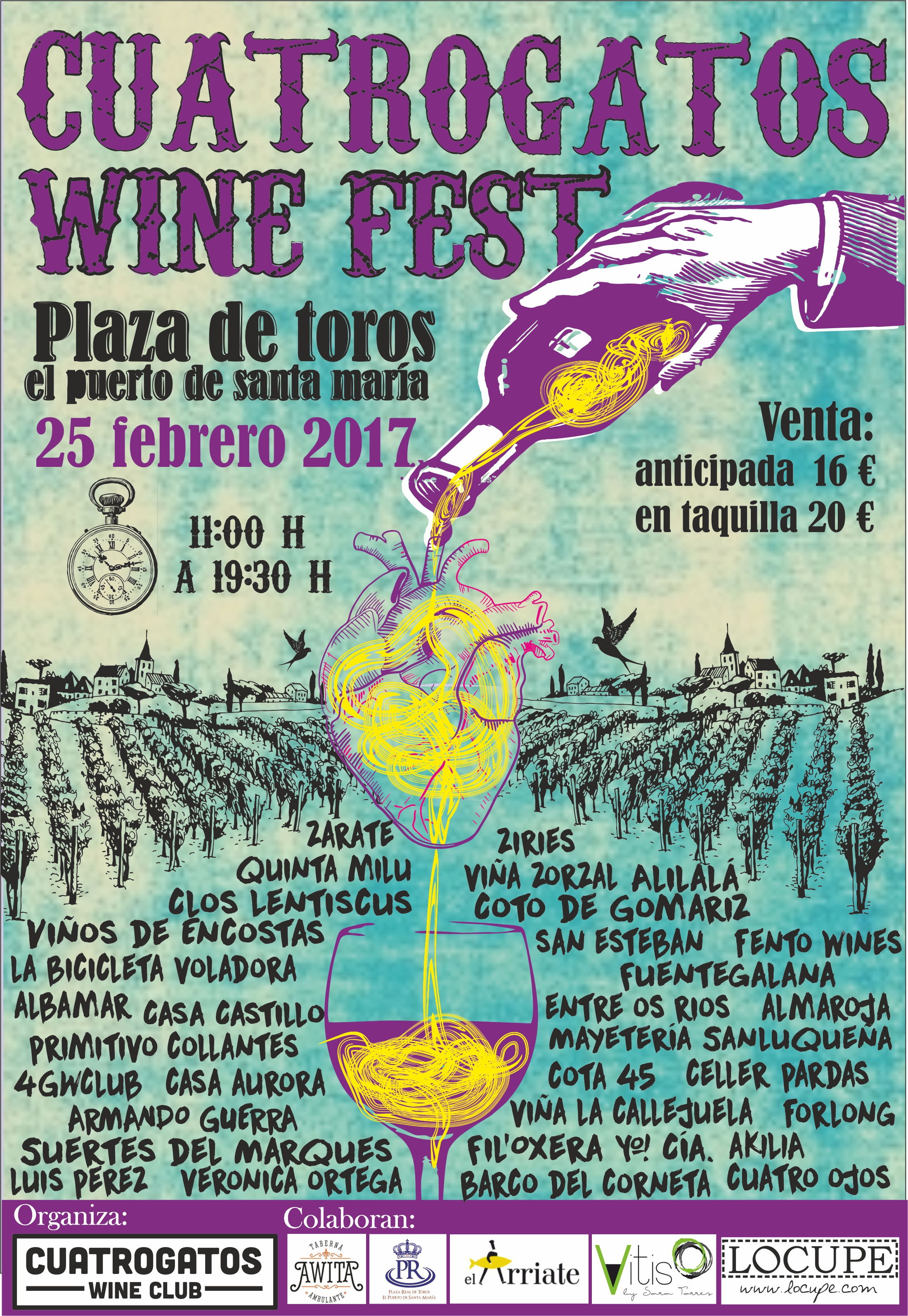 CUATROGATOS WINE FEST: ¡a por la segunda! | Cuatrogatos Wine Club